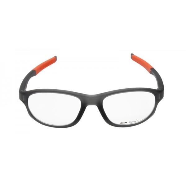 a2af87df41 ... where can i buy oakley unisex crosslink strike gray frame transparent  lens oval 54mm glasses fake