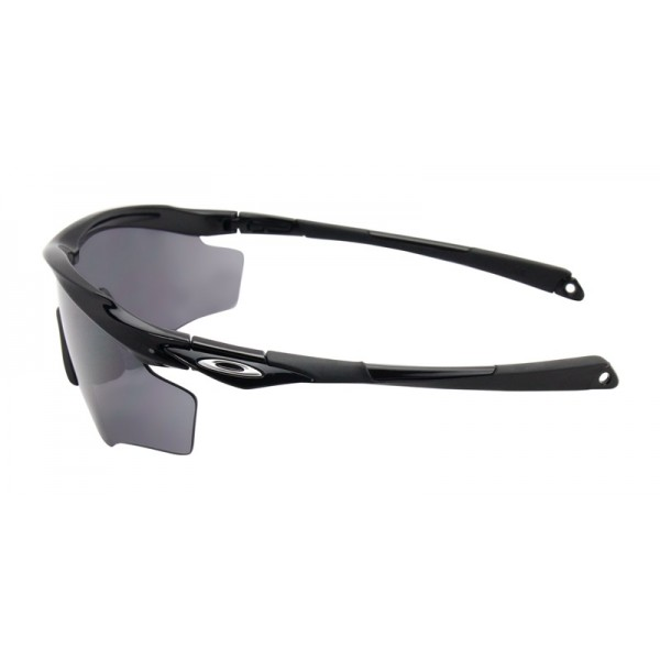 Oakley Men\'s M2 Frame Xl Black Frame Gray Lens Shield Sunglasses ...