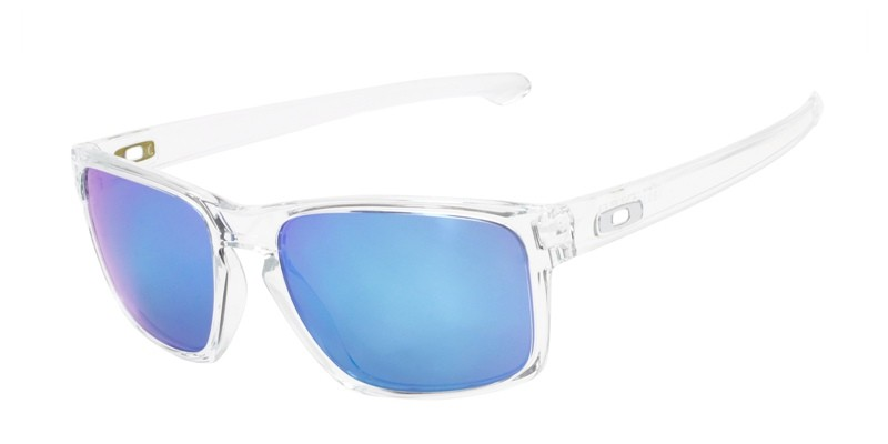 Oakley Men\'s Sliver Clear Frame Blue Lens Rectangular 57mm ...