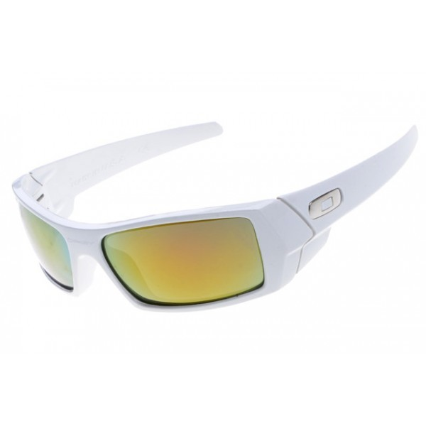 34ffa615171d9 fake Oakley gascan sunglasses white frame fire iridium lens for sale ...