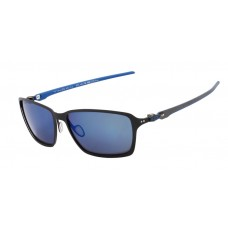 5f68d3a753 Oakley Men s Tincan Carbon Black Frame Blue Lens R..