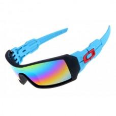 5545e09312c Oakley Oil Rig sunglasses matte black and blue
