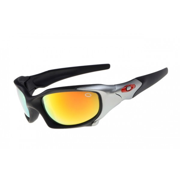 8d0741de6e0 replica Oakley Pit Boss sunglasses silver   fire iridium